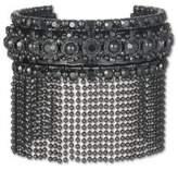 Marchesa Crystal Fringe Cuff Bracelet