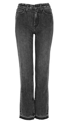 SLVRLAKE Rider Grey Straight-leg Jeans
