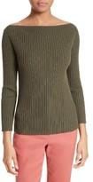 Theory Women's Sandora Merino Wool & Cotton Sweater