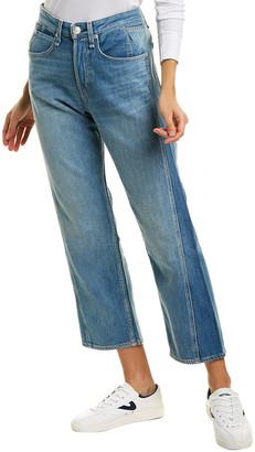 Rag & Bone Maya High-Rise Ankle Straight Leg Jean