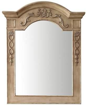 """James Martin Vanities European Traditions Mirror, Empire Linen, 32"""""""