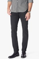 7 For All Mankind Luxe Performance Sateen The Straight In Charcoal