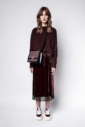 Zadig & Voltaire Jillian Velvet Skirt