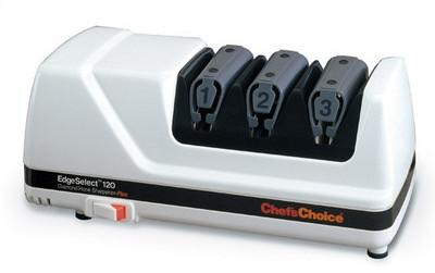 Chef's Choice Diamond Hone EdgeSelect Plus Knife Sharpener - White