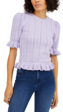 INC International Concepts Inc Popcorn-Stitch Pullover Sweater, Created for Macy's