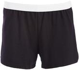 Soffe Black V-Notch Authentic Shorts