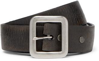 Ralph Lauren RRL 3.5cm New Burlington Tumbled-Leather Belt
