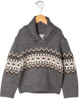Jacadi Boys' Shawl Neck Sweater