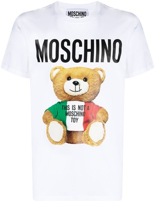 Moschino bear-motif T-shirt