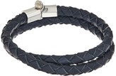 Miansai Rovos Leather Double Wrap Bracelet