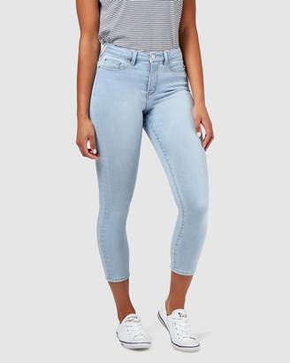 Jeanswest Savannah Mid Waisted Skinny Crop