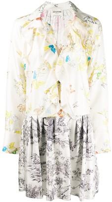 Zadig & Voltaire Fashion Show Ruska Mix dress