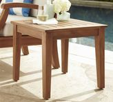 Pottery Barn Hampstead Teak Side Table - Honey