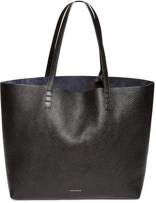Mansur Gavriel Tumble Large Tote - Black