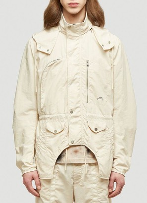 A-Cold-Wall* X Diesel Red Tag Hooded Parka