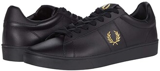 Fred Perry Spencer Leather (Porcelain/Navy) Men's Shoes