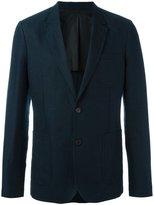 Ami Alexandre Mattiussi half lined 2 button jacket - men - Cotton/Linen/Flax - 44