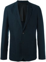 Ami Alexandre Mattiussi half lined 2 button jacket - men - Cotton/Linen/Flax - 50