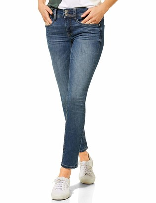 Street One Women's 373258 York Slim Fit Trouser