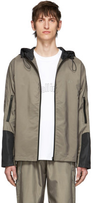 all in Brown and Black XP Jacket