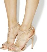 Nude T Bar Heels - ShopStyle UK