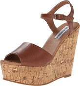 Steve Madden Women's Korkey Wedge Sandal