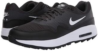 Nike Air Max 1G (Black/White/Anthracite/White) Men's Golf Shoes