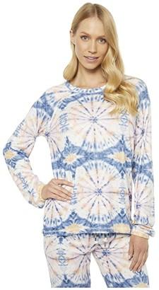 PJ Salvage Hello Sunshine Sweatshirt (Ivory) Women's Clothing