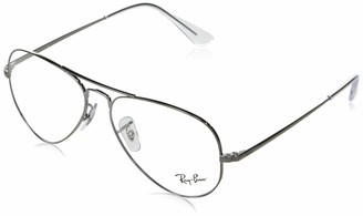 Ray-Ban RX6489 Metal Aviator Prescription Eyeglass Frames