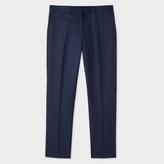 Paul Smith Women's Slim-Fit Navy Wool Trousers