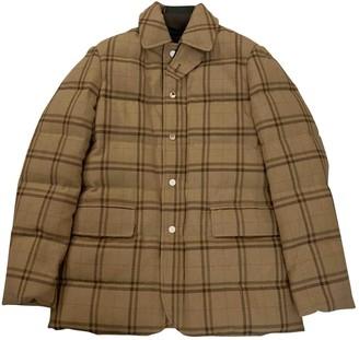 Ralph Lauren Purple Label Camel Wool Coats
