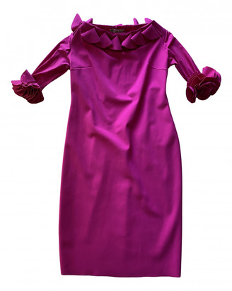 Chiara Boni Pink Polyester Dresses