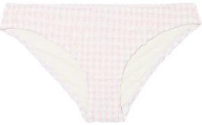 Solid & Striped The Elle Striped Low-rise Bikini Briefs