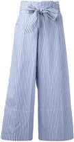 By Malene Birger Bennih cropped trousers - women - Cotton - 40