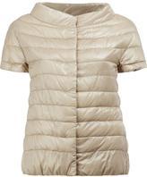 Herno cap sleeve padded jacket - women - Cotton/Feather Down/Polyamide/Acetate - 42