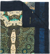 Etro multi-print scarf - men - Silk/Cotton - One Size
