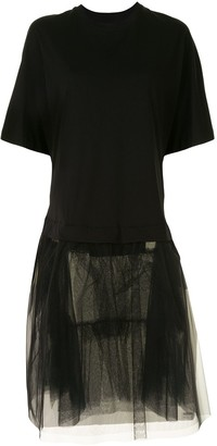 Simone Rocha tulle T-shirt dress