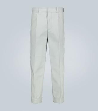 Acne Studios Pierre pleated stretch-cotton pants