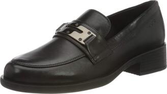 Geox Women's D Resia K Loafer Size: 6.5 UK Black