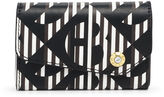Henri Bendel West 57th Modern Monogram Business Card Case