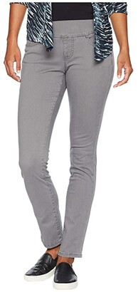Jag Jeans Petite Petite Peri Pull-On Straight Leg Pants in Bay Twill
