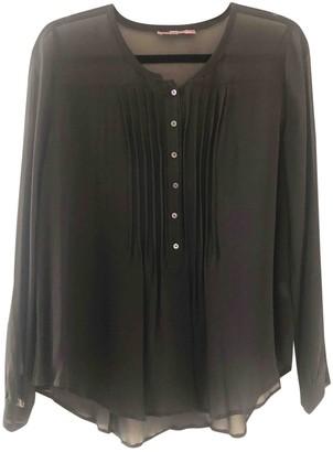 Calypso St. Barth Black Silk Top for Women