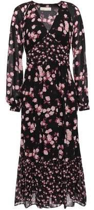 MICHAEL Michael Kors Ruffled Georgette Midi Dress