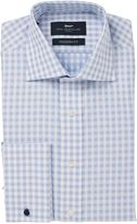 Paul Costelloe Basketweave Check Classic Fit Shirt