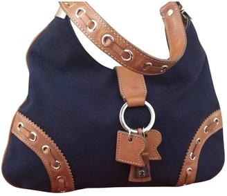 Fratelli Rossetti Blue Cloth Handbags