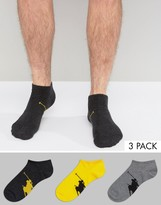 Polo Ralph Lauren 3 Pack Trainer Socks