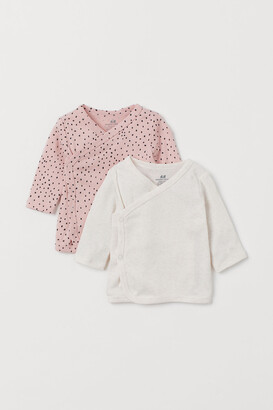 H&M 2-pack Wrapover Tops
