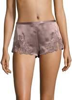 Josie Natori Women's Lillian Silk Pajama Shorts