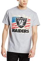 Majestic Athletic Men's Raiders Regular Fit Short Sleeve T-Shirt,Small
