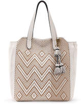 Elliott Lucca Stone Geo Say Leather Tote